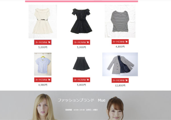 ECサイト、ショップサイトのホームページ制作│ショップカート